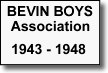 Bevin Boys Badge