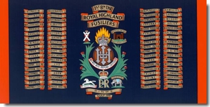 RHF Battle Honours